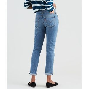 Levis womens Boyfriend Jeans tapered